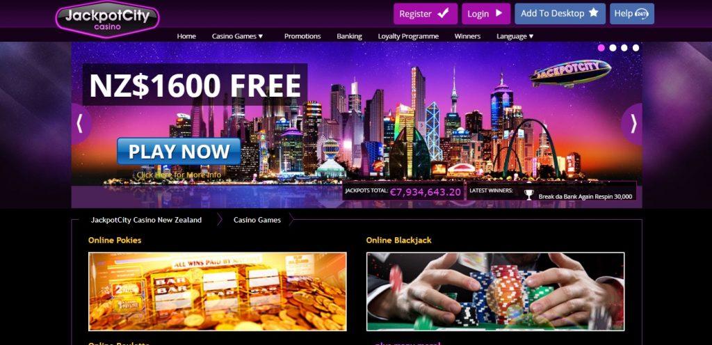 Jackpotcity Casino NZ review