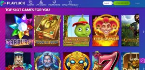 Playluck Casino review