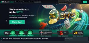 Bitcoin Games Casino review