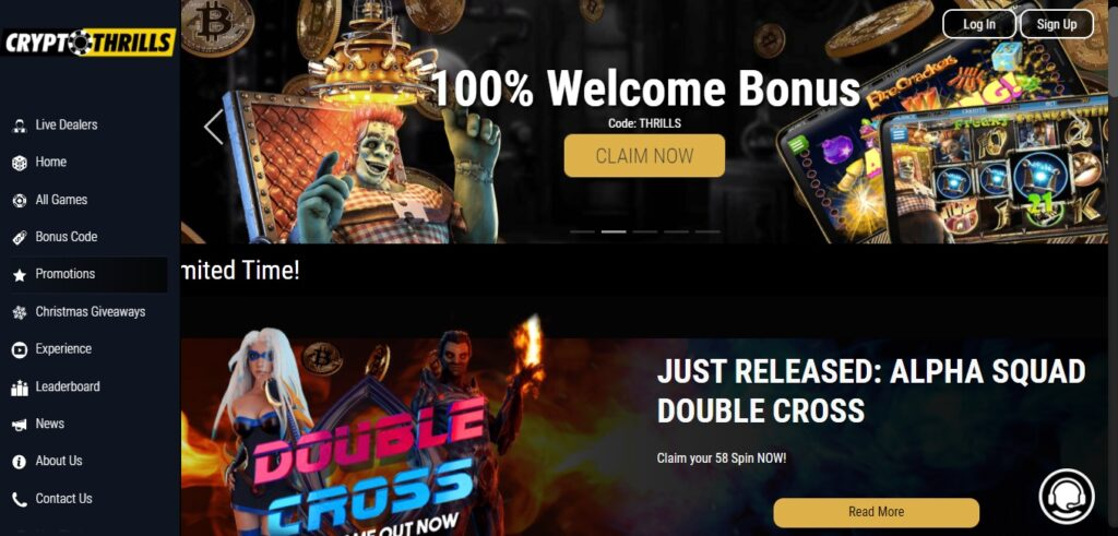 Crypto Thrills Casino Review