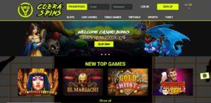 CobraSpins Casino Review