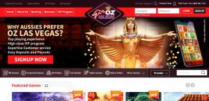 Oz LasVegas Casino review