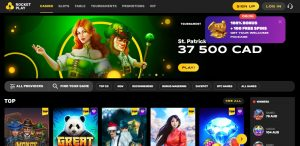 Rocket Play Casino review