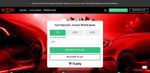 KTO Pay N Play Casino Review