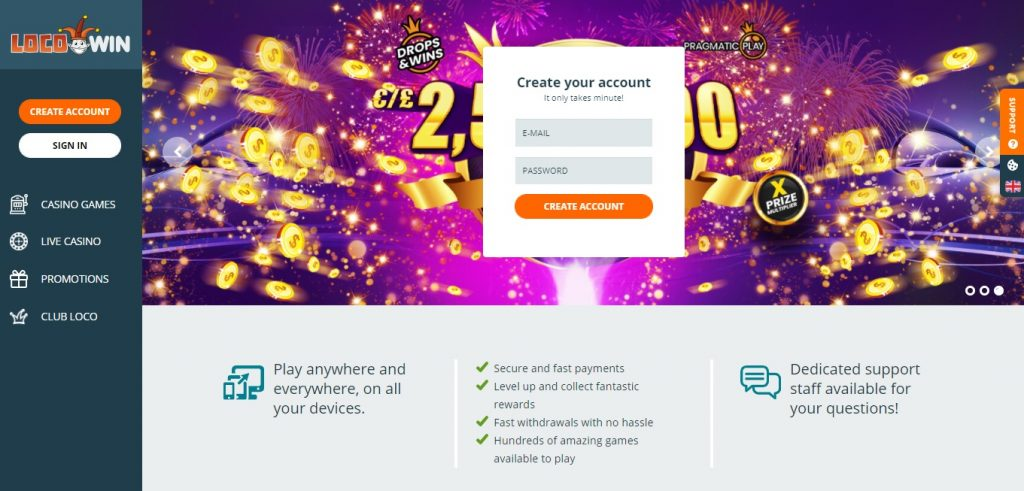 LocoWin Casino review New Zealand