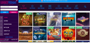 Lucky Vegas Casino review