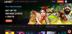 LevelUp Casino Review NZ AU