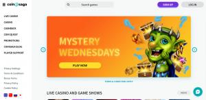 CoinSaga Casino review New Zealand