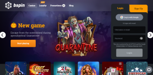 Bspin Casino review New Zealand